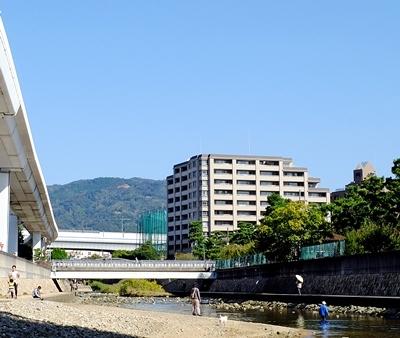住吉川から六甲アイランドまでウォーキング♪_b0194861_17413361.jpg