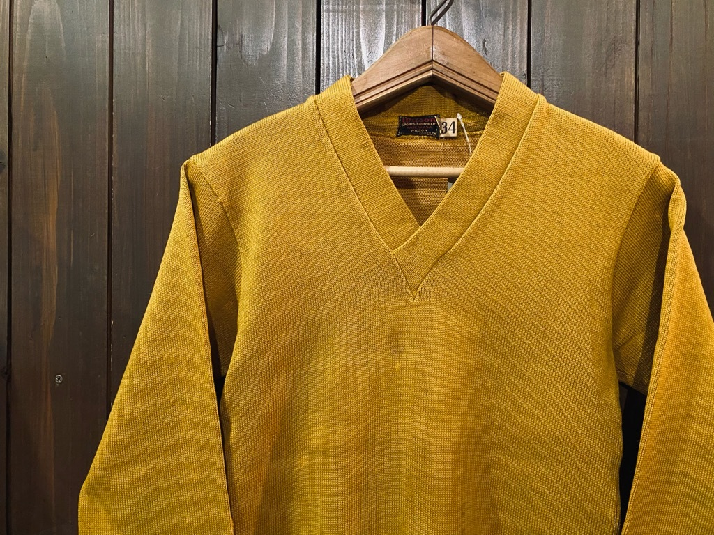 マグネッツ神戸店 10/28(水)Vintage入荷! #4 Athletic Knit Item!!!_c0078587_16553518.jpg