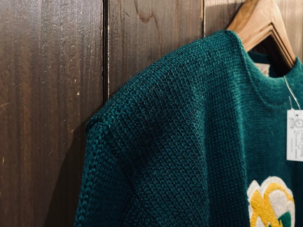 マグネッツ神戸店 10/28(水)Vintage入荷! #4 Athletic Knit Item!!!_c0078587_16562450.jpg