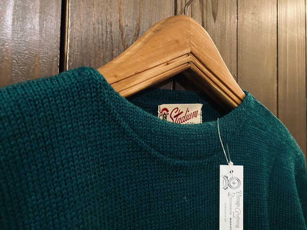 マグネッツ神戸店 10/28(水)Vintage入荷! #4 Athletic Knit Item!!!_c0078587_16562484.jpg
