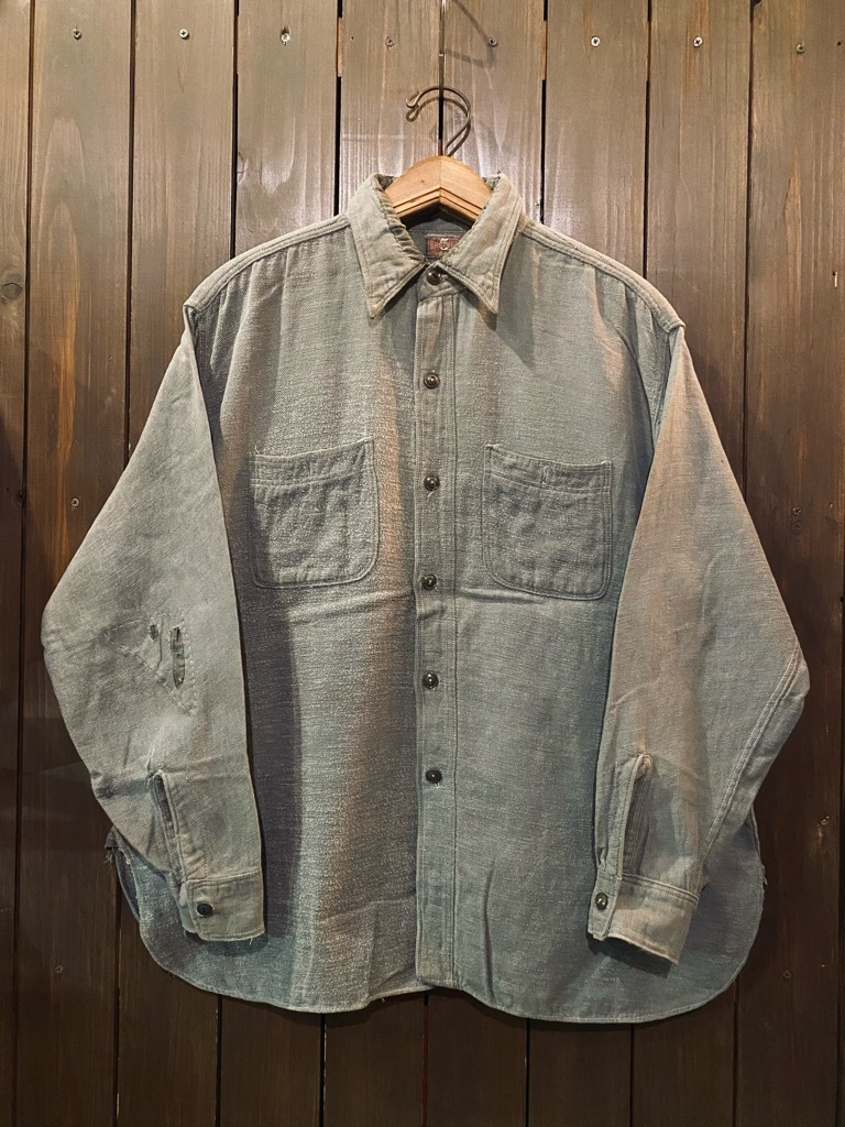 マグネッツ神戸店 10/28(水)Vintage入荷! #5  Work Shirt !!!_c0078587_20021539.jpg
