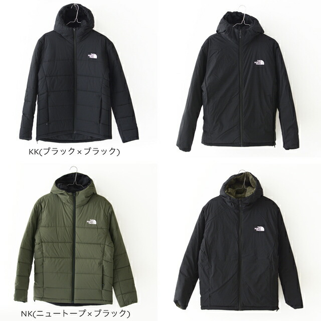 THE NORTH FACE [ザ ノースフェイス正規販売店] Reversible Anytime Insulated Hoodie [NY82080] リバーシブルフーディ・MEN\'S _f0051306_16461949.jpg