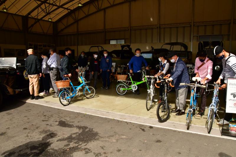 Moulton Sunday Ride in Wakui museum 続き_b0223512_14401055.jpg