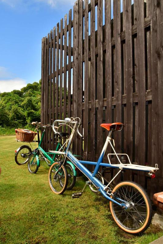 Moulton Sunday Ride in Wakui museum 続き_b0223512_14401422.jpg