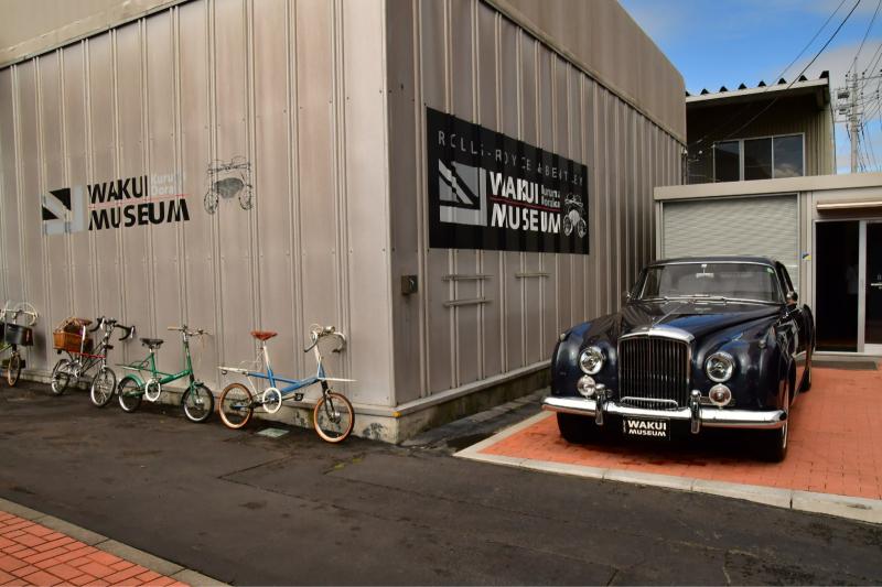 Moulton Sunday Ride in Wakui museum 続き_b0223512_14413125.jpg