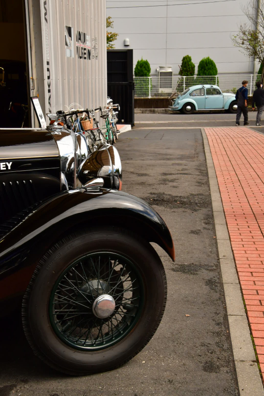 Moulton Sunday Ride in Wakui museum 続き_b0223512_14413306.jpg