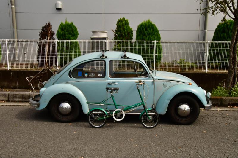 Moulton Sunday Ride in Wakui museum 続き_b0223512_14413408.jpg