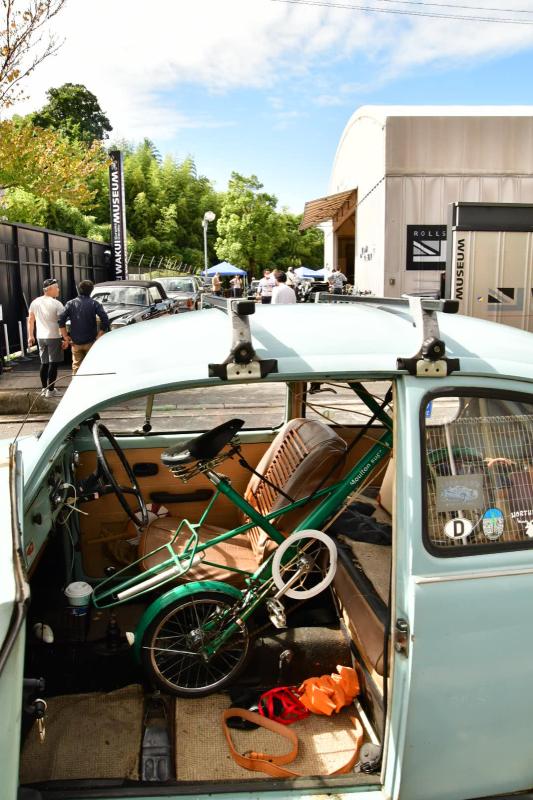 Moulton Sunday Ride in Wakui museum 続き_b0223512_14413897.jpg