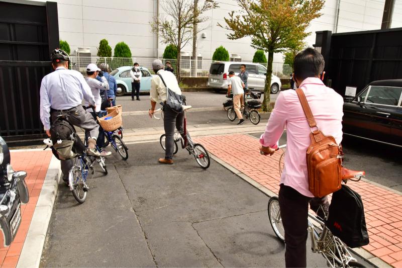 Moulton Sunday Ride in Wakui museum 続き_b0223512_14421915.jpg
