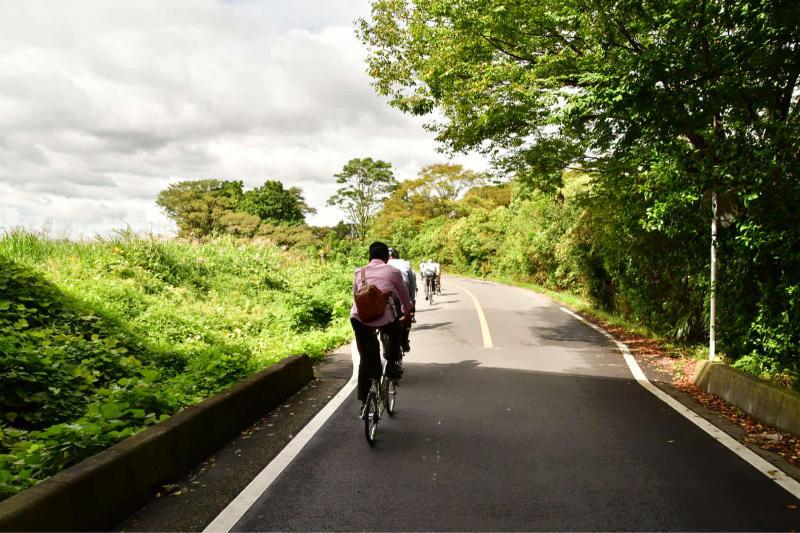 Moulton Sunday Ride in Wakui museum 続き_b0223512_14422099.jpg
