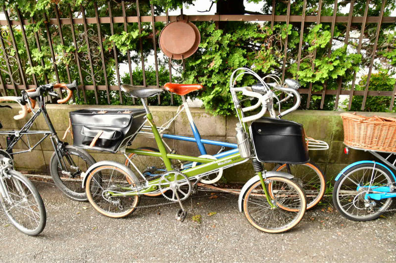 Moulton Sunday Ride in Wakui museum 続き_b0223512_14434425.jpg