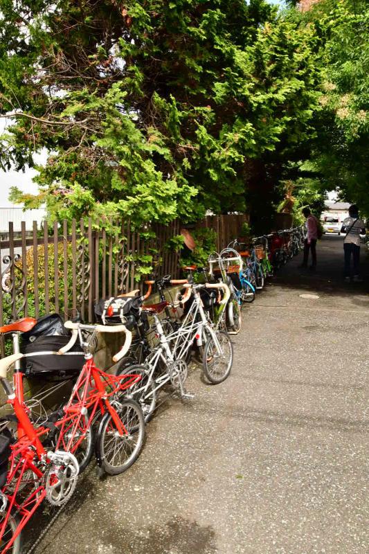 Moulton Sunday Ride in Wakui museum 続き_b0223512_14434694.jpg