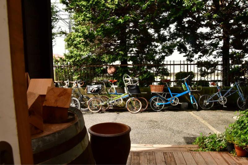 Moulton Sunday Ride in Wakui museum 続き_b0223512_14434832.jpg