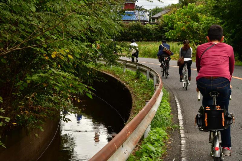 Moulton Sunday Ride in Wakui museum 続き_b0223512_14445647.jpg