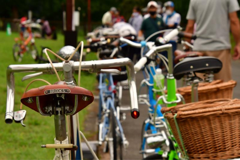 Moulton Sunday Ride in Wakui museum 続き_b0223512_14460226.jpg