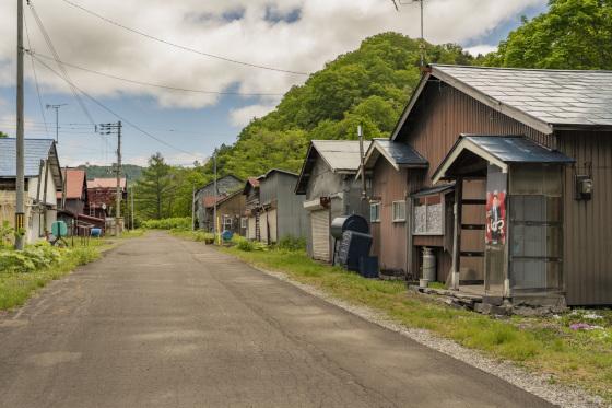 北海道「夕張市真谷地炭鉱炭住」_a0096313_15105179.jpg