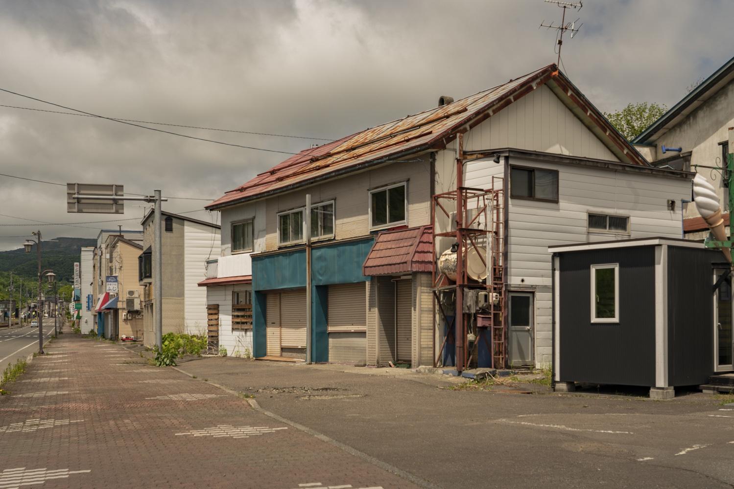 北海道夕張市「清水沢駅前通り商店街」_a0096313_15162480.jpg