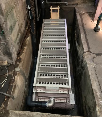 ステンレス製 温水器(排水熱交換器)京都の銭湯さんへ納入_f0228240_13172509.jpg
