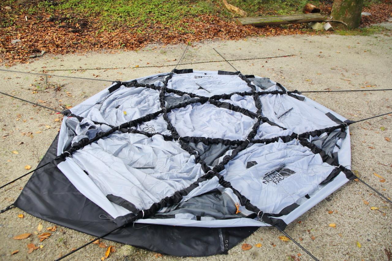 ジオドームという美しいテント_b0078651_21032102.jpg