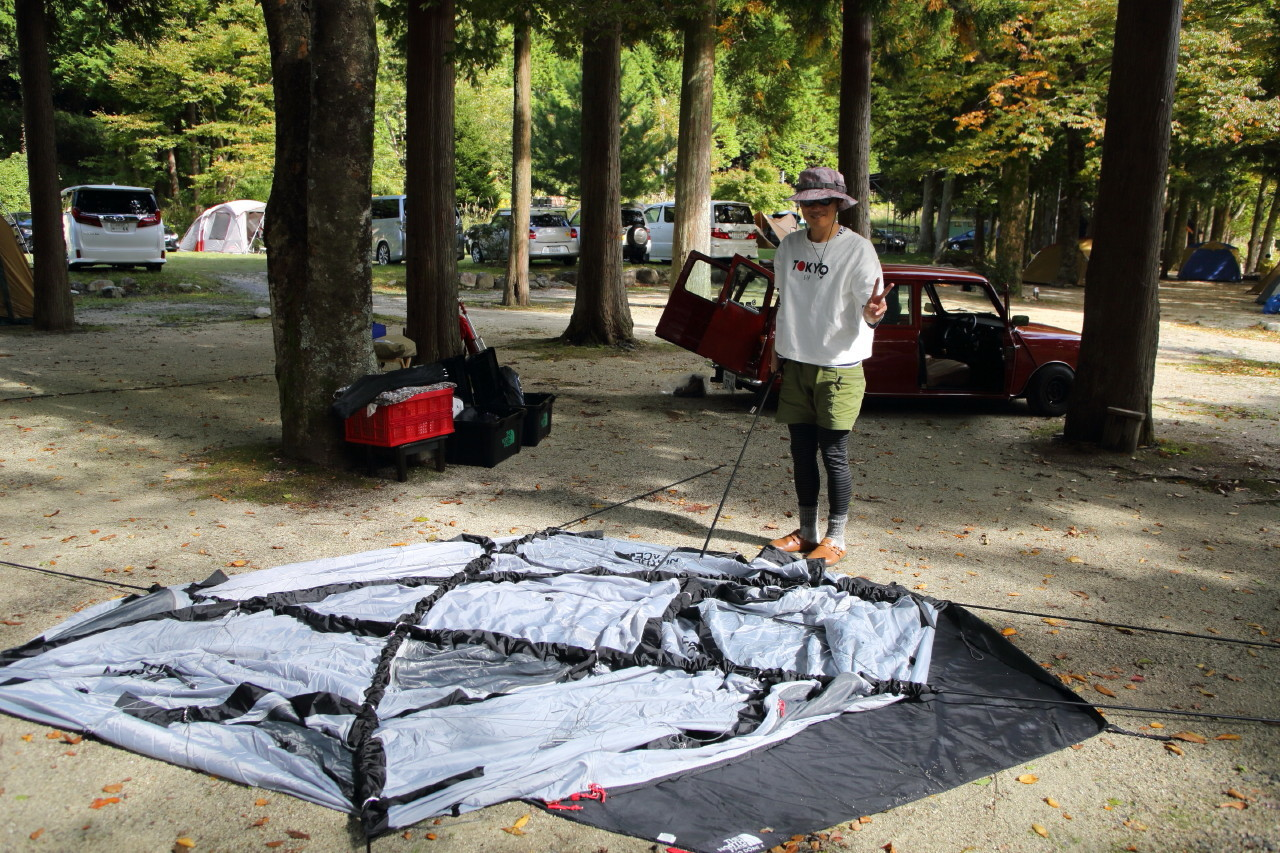 ジオドームという美しいテント_b0078651_21032110.jpg