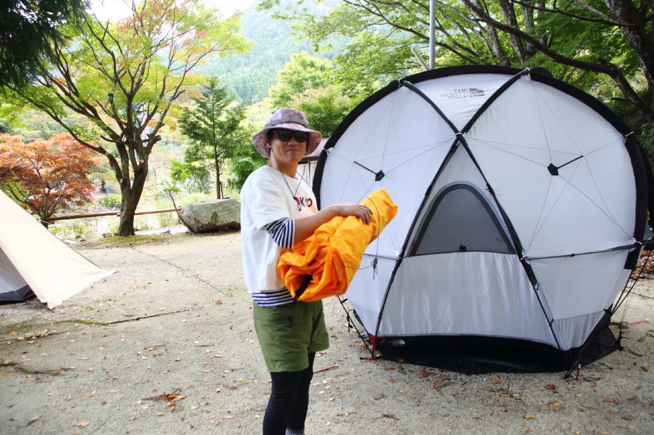 ジオドームという美しいテント_b0078651_21032143.jpg