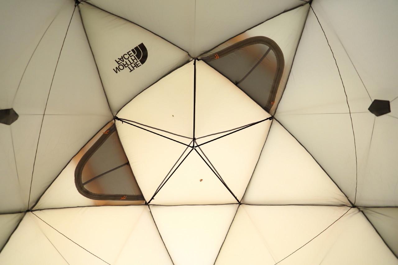 ジオドームという美しいテント_b0078651_21153743.jpg