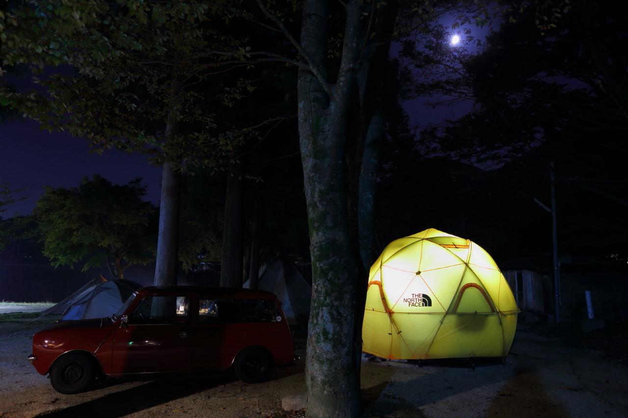 ジオドームという美しいテント_b0078651_21202619.jpg