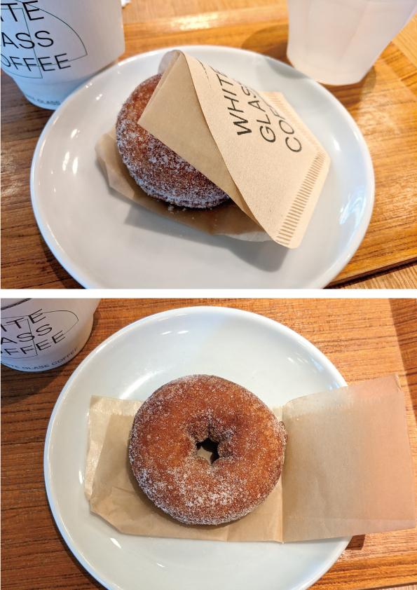 【渋谷】WHITE GLASS COFFEE「クラシックドーナツ」【ドーナツの良さが詰まった逸品!】_d0272182_14024820.jpg