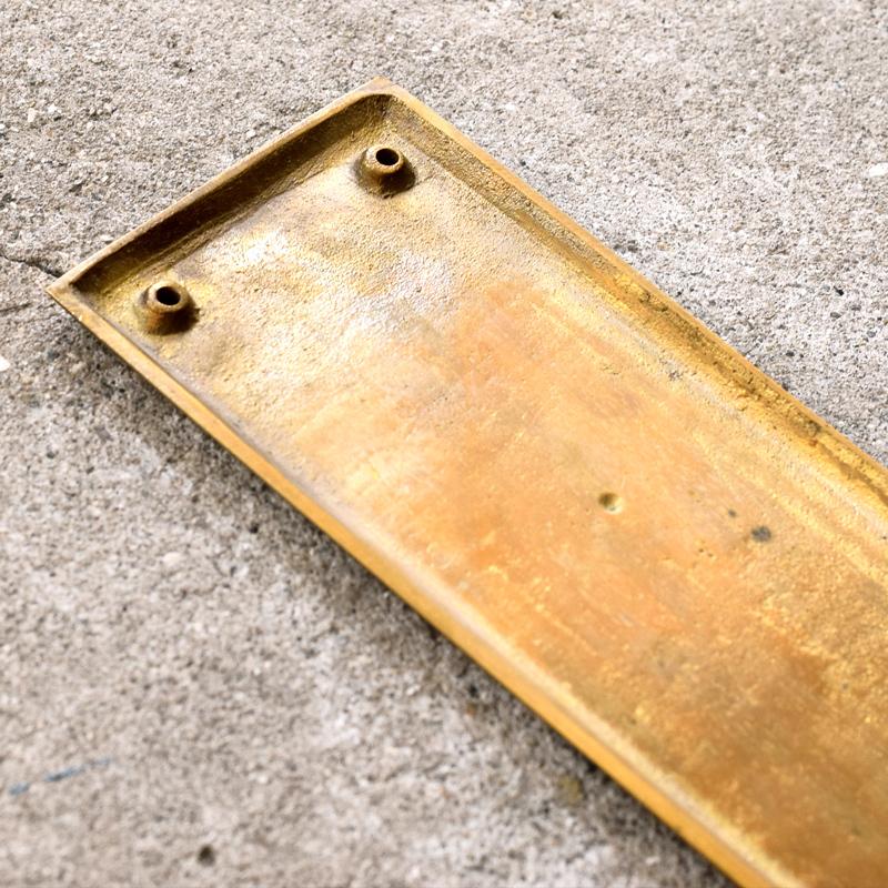 おすすめ☆【BRASS PRUDUCTS】真鍮製 プッシュプレート&ヴィクトリアン・ドア・ハンドル。_f0318397_14235537.jpg