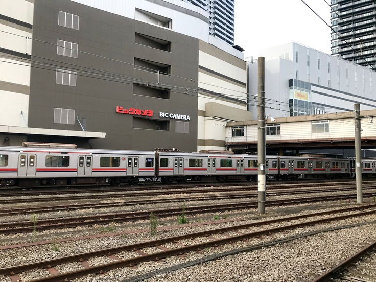 八王子駅の東急車両♪_c0212604_8312796.jpg