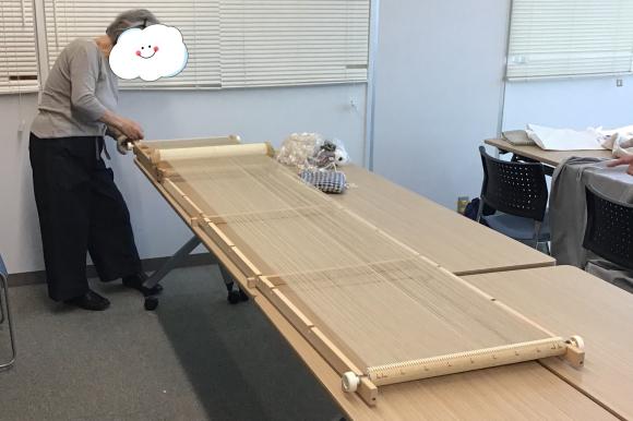 【楽しい手織り(伝統手織)】生徒さんの作品です♪_c0357605_13523355.jpeg