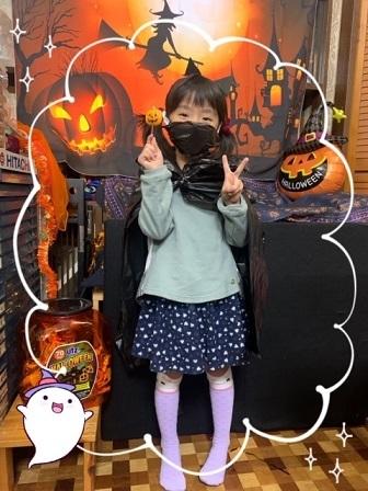 火曜日・ハロウイン仮装レッスン_e0040673_10014368.jpg
