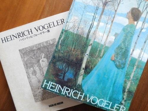 Book:ハインリッヒ・フォーゲラー図録2点_c0084183_20204346.jpg