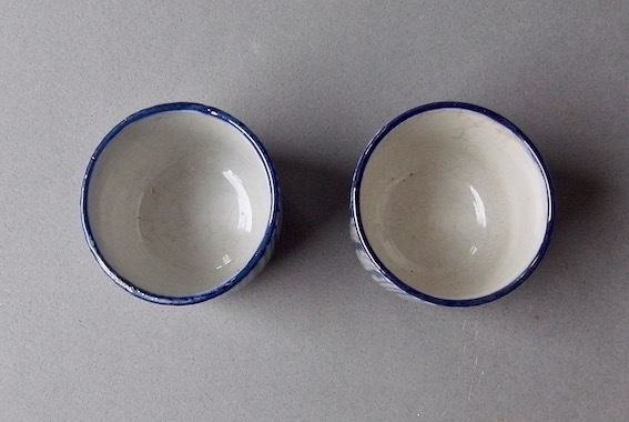 白釉小壺と瀬戸覗き猪口_e0111789_10054021.jpeg