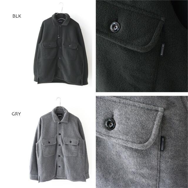 DELICIOUS [デリシャス] Fleece Shirt Jacket [DC0794] フリースシャツジャケット・フリースジャケット・MEN\'S _f0051306_11470067.jpg