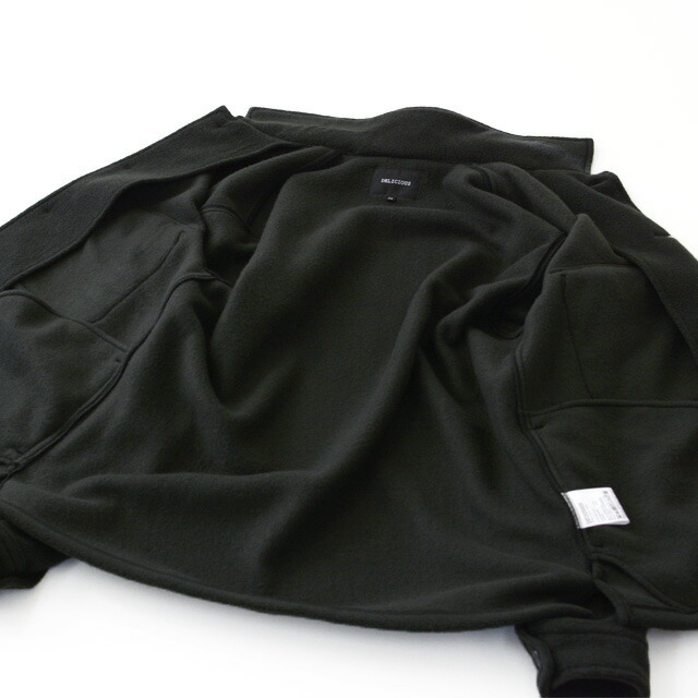 DELICIOUS [デリシャス] Fleece Shirt Jacket [DC0794] フリースシャツジャケット・フリースジャケット・MEN\'S _f0051306_11470080.jpg