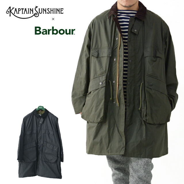 KAPTAIN SUNSHINE [キャプテンサンシャイン]×Barbour[バブアー] Stand Collar Traveller Coat [KS20FBB01] ・MEN\'S _f0051306_17412955.jpg