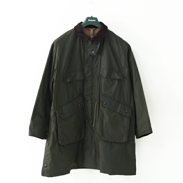 KAPTAIN SUNSHINE [キャプテンサンシャイン]×Barbour[バブアー] Stand Collar Traveller Coat [KS20FBB01] ・MEN\'S _f0051306_17413000.jpg