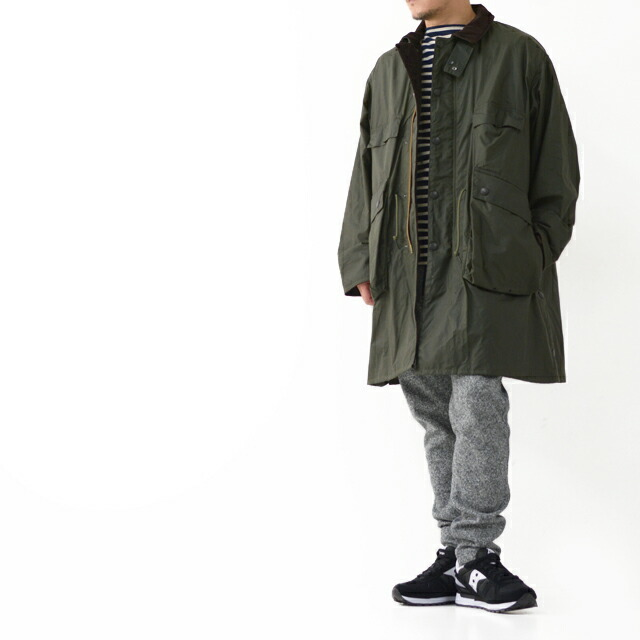 KAPTAIN SUNSHINE [キャプテンサンシャイン]×Barbour[バブアー] Stand Collar Traveller Coat [KS20FBB01] ・MEN\'S _f0051306_17413006.jpg