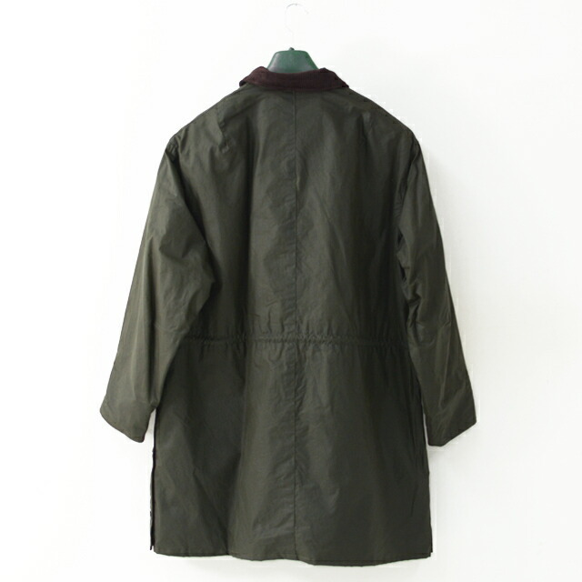 KAPTAIN SUNSHINE [キャプテンサンシャイン]×Barbour[バブアー] Stand Collar Traveller Coat [KS20FBB01] ・MEN\'S _f0051306_17413049.jpg