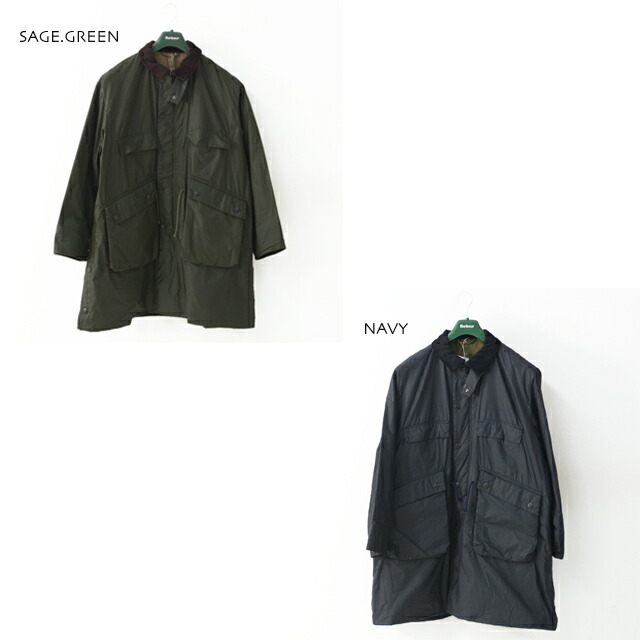 KAPTAIN SUNSHINE [キャプテンサンシャイン]×Barbour[バブアー] Stand Collar Traveller Coat [KS20FBB01] ・MEN\'S _f0051306_17413066.jpg