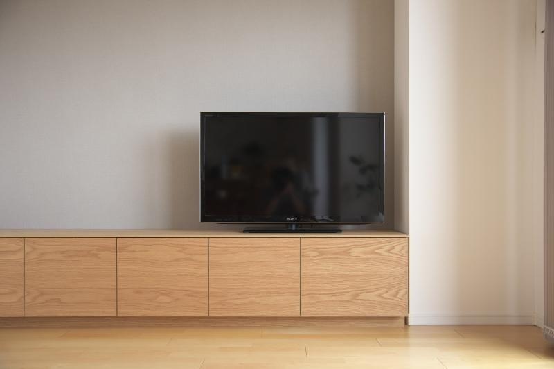2020.10.29          テレビボードお届け_e0192609_16531875.jpg