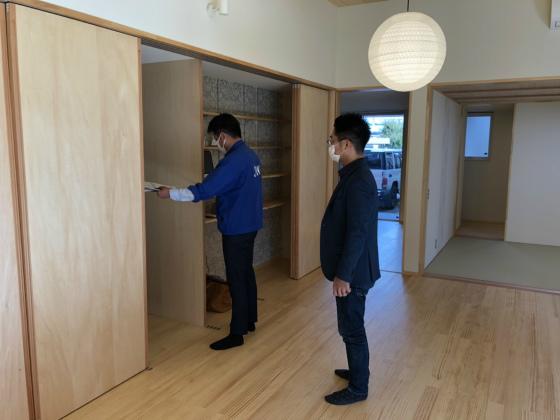 NKN 住宅性能証明検査_a0210340_16502187.jpg