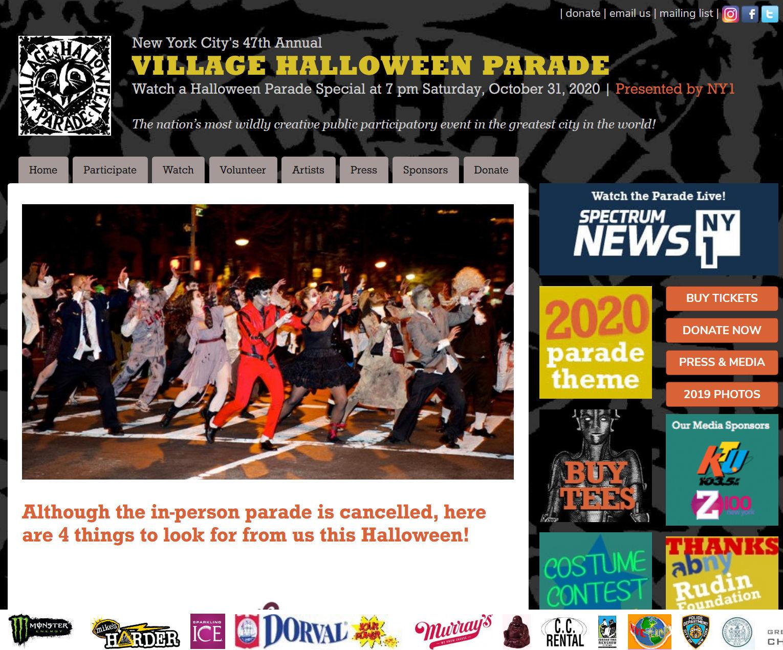 今年のニューヨークのハロウィン・パレードは、史上初ミニチュア・パレードを動画配信!_b0007805_01030588.jpg