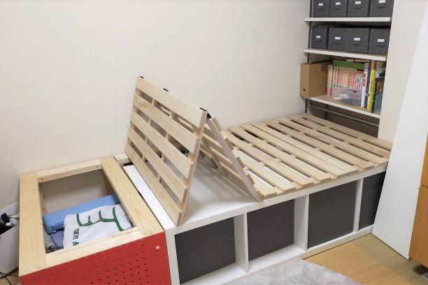 子供部屋を移動 ベッドを解体_e0408608_18581750.jpg