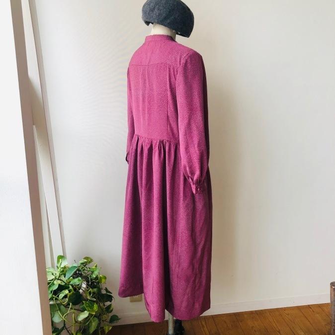 着物リメイク・小紋のお着物からワンピース_d0127925_15361993.jpg