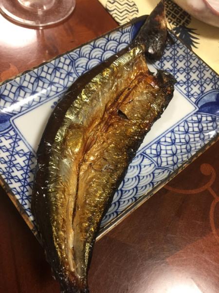 今季初の秋刀魚さま_f0101128_12333599.jpg