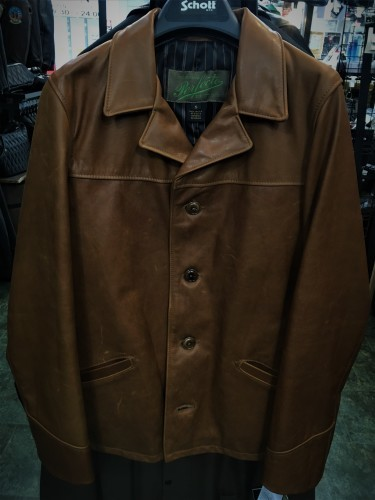 SCHOTT 544 COWHIDE SHORT CAR COAT_f0349544_11265920.jpg