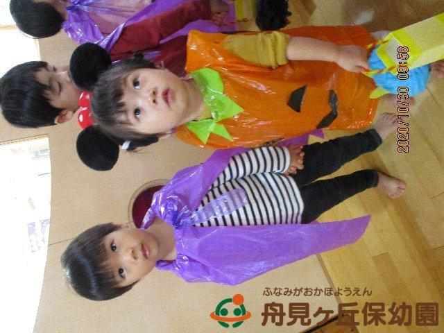 【にじ2組】と【りす組】 ハロウィンパーティーをしたよ!_f0367159_19574608.jpg