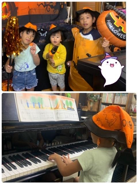 木曜日ハロウィン仮装レッスン☆_e0040673_10510962.jpg